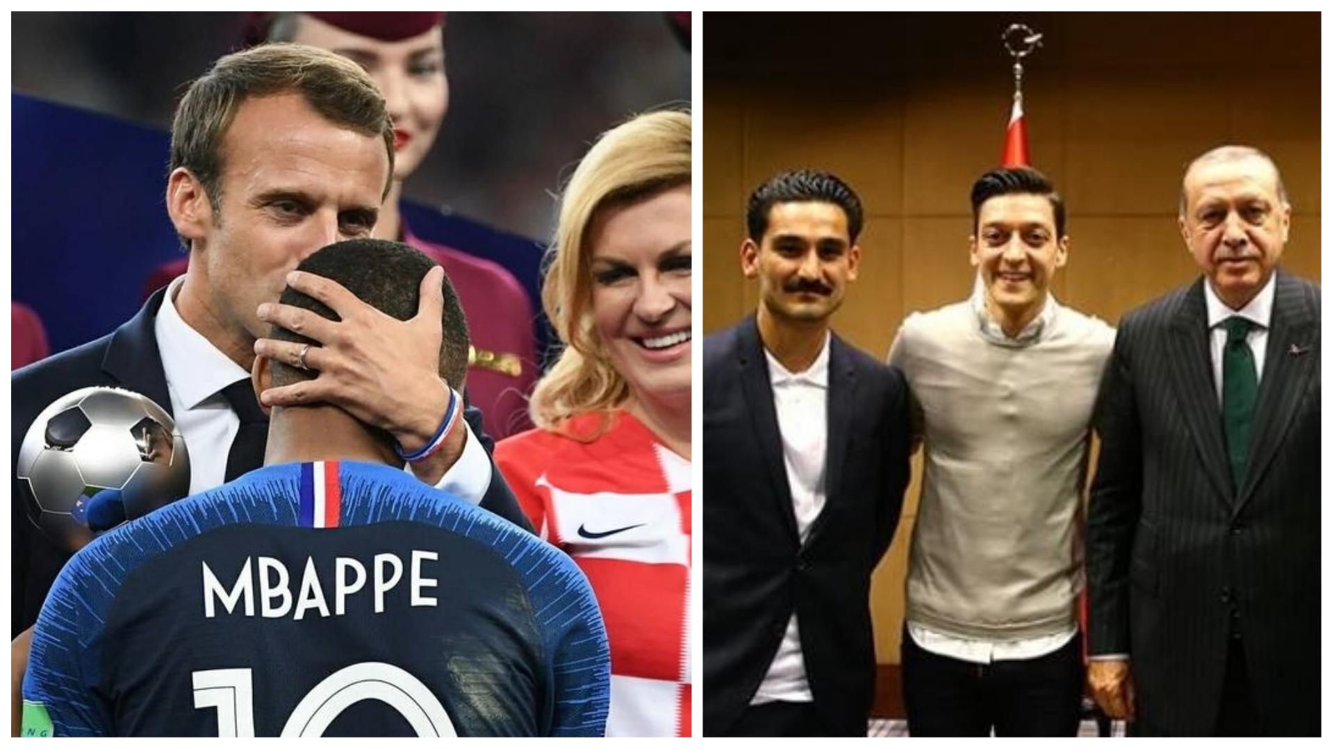 Kylian Mbappé mesut özil ozil alemanha frança turquia copa do mundo preconceito xenofobia imigrante imigração sociedade política futebol