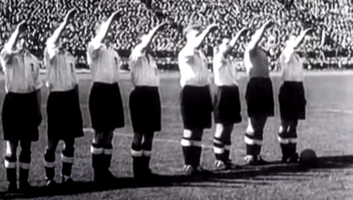 seleção inglesa inglaterra alemanha seleção alemã saudação nazista nazismo segundo guerra mundial stanley rous stan cullis